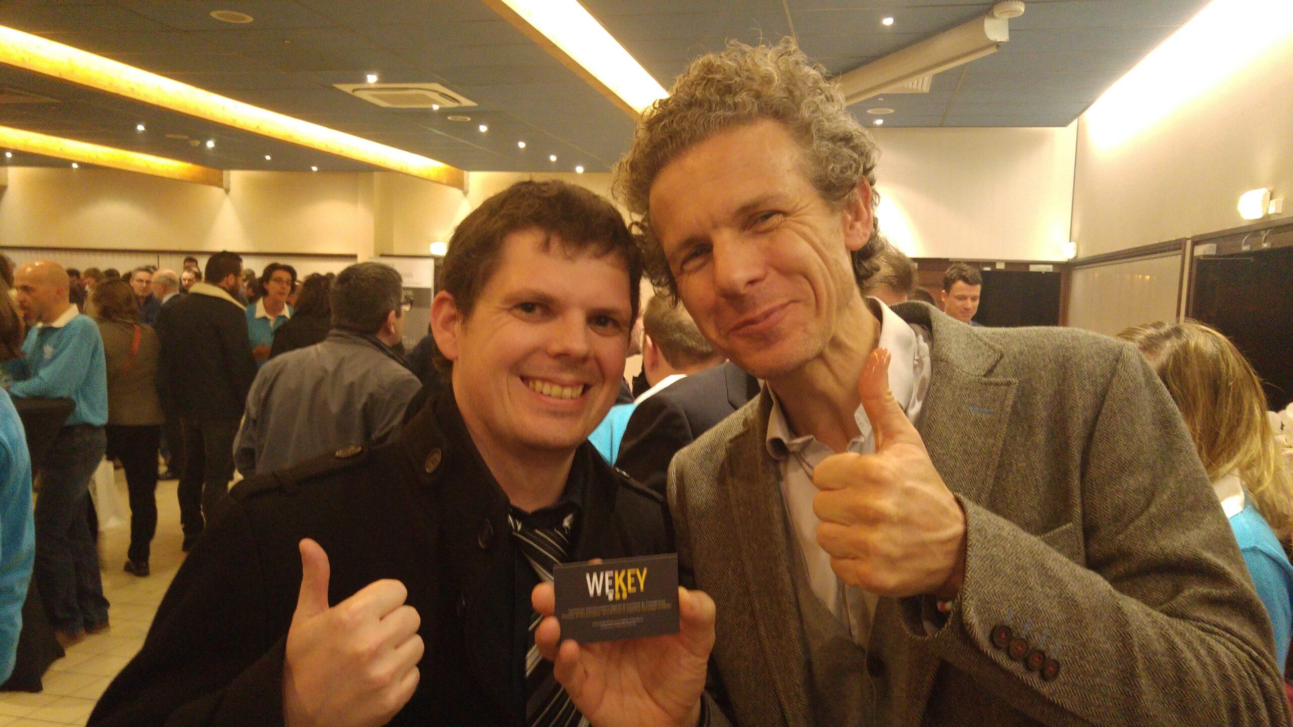 Gilles Babinet encourage la start-up Wekey !